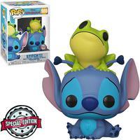 Boneco Funko Pop Disney Lilo Stitch - Stitch With Frog 986