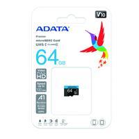 Cartao de Memoria 64GB SD Class 10 PN# ASDX64GUICL10-R A-Data