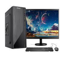 """Computador Completo Fácil Intel Core I5 10400F Décima Geração, 8GB DDR4, Geforce, SSD 120GB, Monitor 21.5"""" Led, HDMI"""