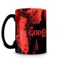 Caneca Mágica God Of War Vermelha