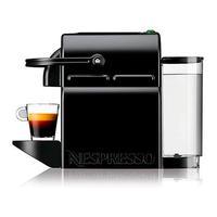Cafeteira Nespresso Inissia Preta Para Café Expresso - D40-br-bk-ne4 - 110v