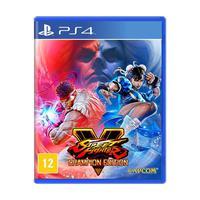 Jogo Street Fighter V (edição Dos Campeões) - Ps4
