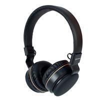 Headphone Bluetooth Hoopson F-48g Preto E Dourado