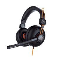 Headset Pro Game Stereo Hoopson Ga-x3 Preto E Laranja