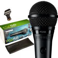 Microfone Shure Pga58 Lc Cardioide Profissional