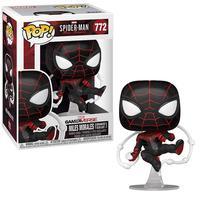 Boneco Funko Pop Marvel Spider-man Miles Morales Advanced 772