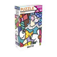 Puzzle Grow 1000 Peças Romero Britto Happy