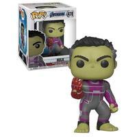 Pop Funko - Marvel: Avengers Endgame - Hulk With Gauntlet 6, 478 Novo 100% Original