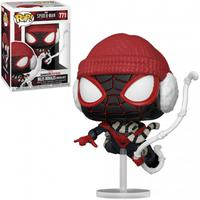 Boneco Funko Pop Marvel Spider-man Miles Morales Winter 771
