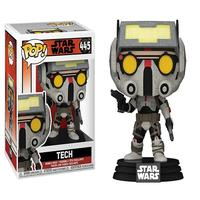 Boneco Funko Pop Star Wars The Bad Batch Tech 445