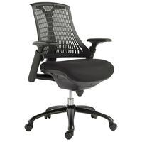 Cadeira Para Escritório Nagoh Office Giratória Preto  Gran Belo