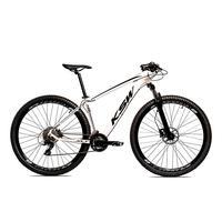 Bicicleta Alum 29 Ksw Cambios Gta 27 Vel Freio Disco Hidráulica - 19´´ - Branco/preto