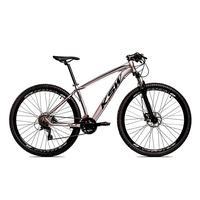 Bicicleta Alum 29 Ksw Cambios Gta 27 Vel Freio Disco Hidráulica - 21'' - Prata/preto