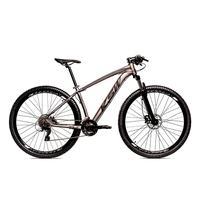 Bicicleta Alumínio Aro 29 Ksw 24 Velocidades Freio  Hidráulico Krw17 - 21´´ - Grafite/preto Fosco