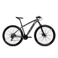Bicicleta Alumínio Aro 29 Ksw 24 Velocidades Freio A Disco Krw16 - 19'' - Grafite/preto Fosco