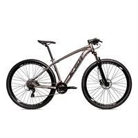 Bicicleta Alum 29 Ksw Shimano 27v A Disco Hidráulica Krw14 - 15.5´´ - Grafite/preto Fosco