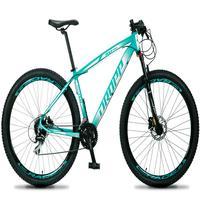 Bicicleta Aro 29 Dropp Rs1 Pro 24v Acera Freio Hidra E Trava - Verde/branco - 19