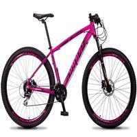 Bicicleta Aro 29 Dropp Rs1 Pro 24v Acera Freio Hidra E Trava - Rosa/preto - 15