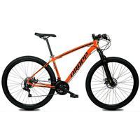 Bicicleta Aro 29 Dropp Z1x 21v Shimano, Susp E Freio A Disco - Laranja/preto - 15''