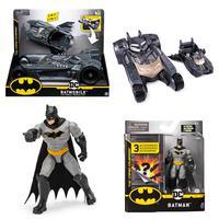 Kit Batman - Batmovél + Figura Batman