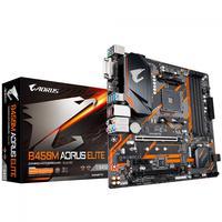 Placa Mãe Gigabyte B450M Aorus Elite AMD AM4 mATX DDR4 9MB45MAET-00-10