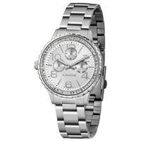 Relógio Lince Feminino Multifunção Prata Lmm4624l-s2sx