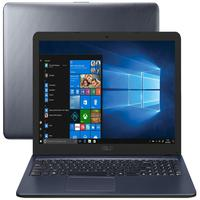Notebook Asus Cinza, Tela 15.6 Full Hd, Intel I3, Ram 8gb, Ssd 256gb, Windows 10 - X543ua