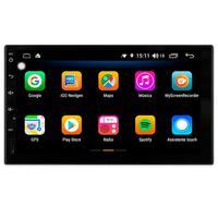 Multimídia Grand Siena Todos Os Anos Sem Radio Tela 7´´ Android 9.0 Gps Câmera De Ré E Frontal Tv Digital 2gb Aikon