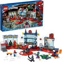 Lego Marvel Ataque Ao Abrigo De Spider-man 466 Peças - 76175