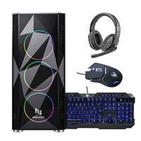 Kit - Pc Gamer Neologic - Nli82755, AMD Ryzen 5 5600G, 16GB (radeon Vega 7 Integrado) SSD 240GB