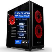 Pc Gamer Fácil Asus Intel Core I7 9700f 16gb Ddr4 Ssd 960gb Geforce Rtx 3060 12gb - 750w