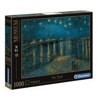 Puzzle 1000 Peças Van Gogh - Noite Estrelada - Clementoni - Imp