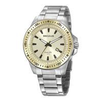 Relógio Seculus Masculino Long Life 20849g0svna2