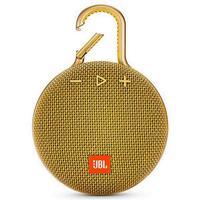 Caixa De Som Bluetooth Jbl Clip 3 Amarelo