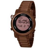 Relógio Feminino Champion Digital Ch48126o- Marrom
