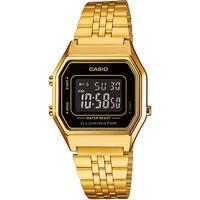Relógio Feminino Casio Vintage Digital La680wga-1bdf - Dourado