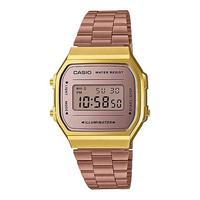 Relógio Unissex Casio Vintage A168wecm-5df - Rosê/dourado