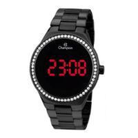 Relógio Feminino Champion Digital Ch40151d - Preto