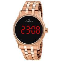 Relógio Feminino Champion Digital Ch40204z - Rosê
