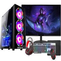 Pc Gamer Completo Fácil, Intel I3, 10100f, décima Geração, 8gb, Gtx 750ti, 4gb, Hd, 1tb, Monitor 21 - Fonte 500w