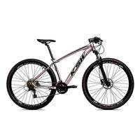 "Bicicleta Aro 29 Ksw 21 Vel Shimano Freios Disco E Trava/k7 Cor:grafite/preto - Quadro 19"""