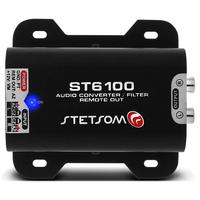 St-6100 Filtro Conversor E Adaptador Rca Stetsom St6100