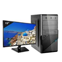 Computador Desktop Icc Iv1847sm19 Intel Dual Core 2.41ghz 4gb Hd 240gb Ssd Monitor Led 19,5
