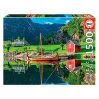 Puzzle 1500 Peças Reflexo No Lago - Educa - Importado