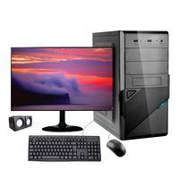 Computador Desktop Corporate I5 10ª Geração 8gb Ddr4 Ssd 240gb Kitmultimidia Monitor 19,5 Windows 10