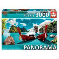 Puzzle 3000 Peças Panorama Tailândia - Educa - Importado