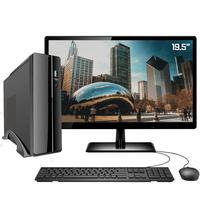 "Computador Completo Intel 10 Geração 4gb Ssd 120gb Monitor 19"" Hdmi Windows 10 Pro Hdmi Full Hd Skill Dc Slim2"