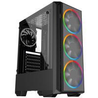 Pc Gamer Intel Geração 10, Core I5 10400f, Geforce Gtx 1650 4gb, 8gb Ddr4 2666mhz, Ssd 480gb, 500w, Skill Pcx